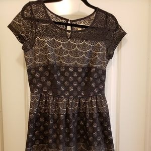 Maison Jules lace overlay dress
